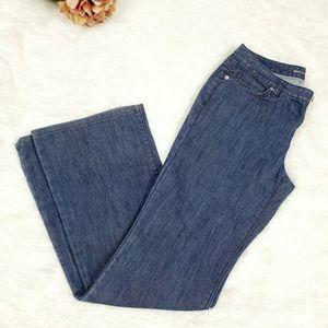 Michael Kors Flare Leg blue Jeans Size 6